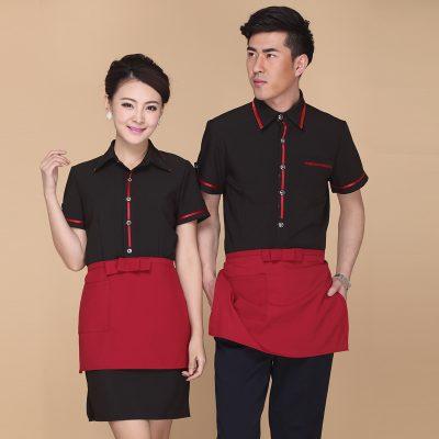 May đồng phục nhân viên nhà hàng khách sạn theo tiêu chí chuẩn - 286307