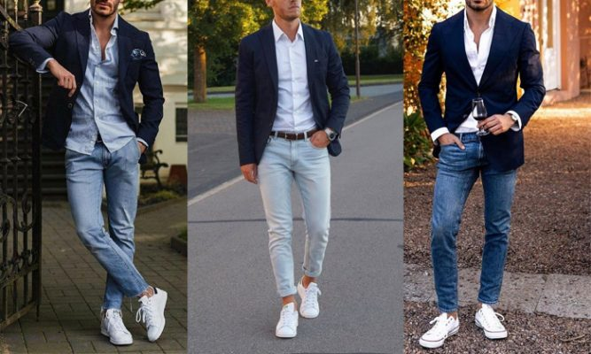 cach phoi ao vest nam voi quan jeans 0